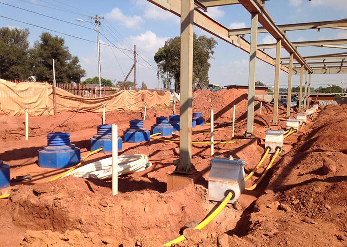 forecourt construction